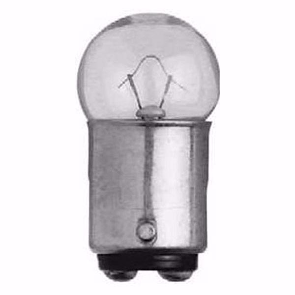Picture of SATCO S7029 68 13.5V 8W BA15D G6 C2R Incandescent Light Bulb