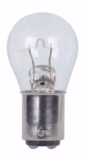 Picture of SATCO S7045 1152 12V 17W BA15D S8 C2R Incandescent Light Bulb