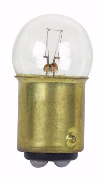 Picture of SATCO S7053 1224 34V 5W BA15D G6 C2F Incandescent Light Bulb