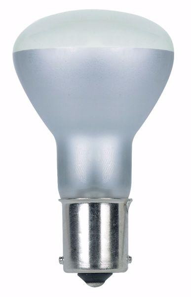 Picture of SATCO S7061 1385 28V 20W BA15S R12 CC8 Incandescent Light Bulb