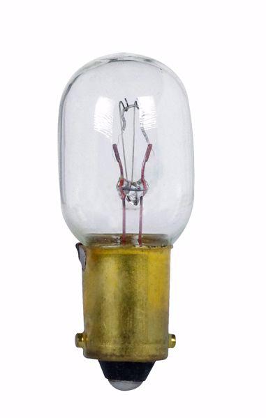 Picture of SATCO S7067 1495 28V 8W BA9S T4.5 C2F Incandescent Light Bulb