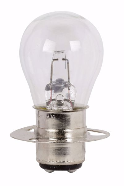 Picture of SATCO S7070 1630 6V 17W P15D30A S8 C6 Incandescent Light Bulb