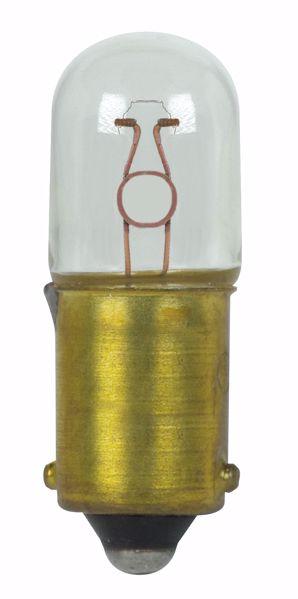 Picture of SATCO S7074 1816 13V 4.3W BA9S T3 1/4 C2V Incandescent Light Bulb