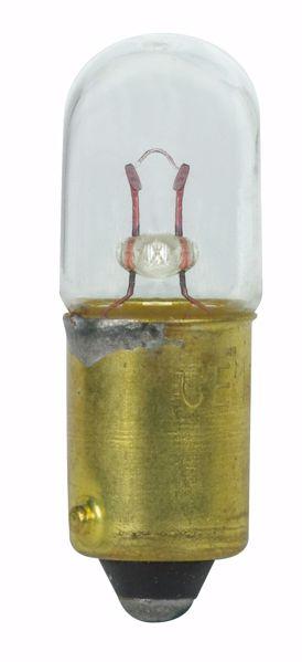 Picture of SATCO S7088 1906 5V .35W BA9S T3.25 C6 Incandescent Light Bulb