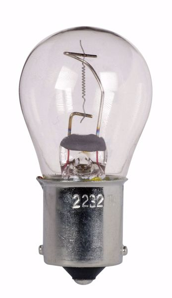 Picture of SATCO S7094 2232 28V 17.9 BA15S S8 CC8 Incandescent Light Bulb
