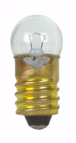 Picture of SATCO S7099 245 2V 1W E10 G3.5 C2R Incandescent Light Bulb