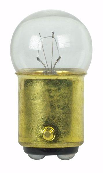 Picture of SATCO S7107 304 28V 8W BA15D G6 C2F Incandescent Light Bulb