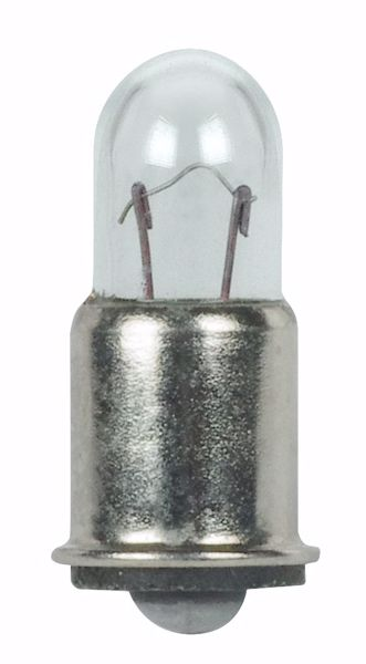 Picture of SATCO S7113 328 6V 1.2W SX6S T1.75 C2R Incandescent Light Bulb