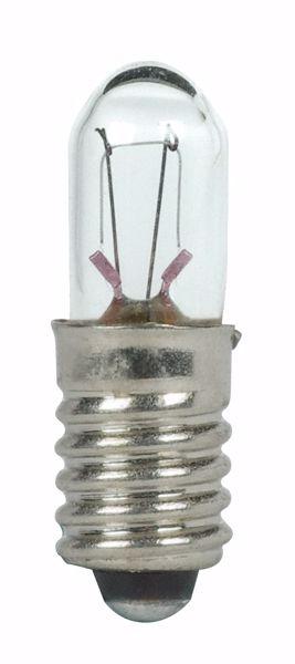Picture of SATCO S7130 399 28V 1W E5.5 T1.75 C2F Incandescent Light Bulb