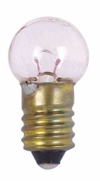 Picture of SATCO S7144 605 6.15V 3W E10 G4.5 C2R Incandescent Light Bulb