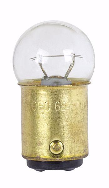 Picture of SATCO S7146 624 28V 10W BA15D G6 2C2V Incandescent Light Bulb