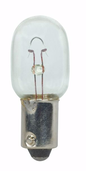 Picture of SATCO S7165 957 9.8V 5W BA9S T4.5 C2R Incandescent Light Bulb