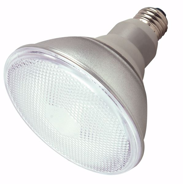 Picture of SATCO S7202 23PAR38/E26/4100K/120V  Compact Fluorescent Light Bulb