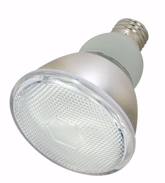 Picture of SATCO S7205 15PAR30/E26/4100K/120V  Compact Fluorescent Light Bulb