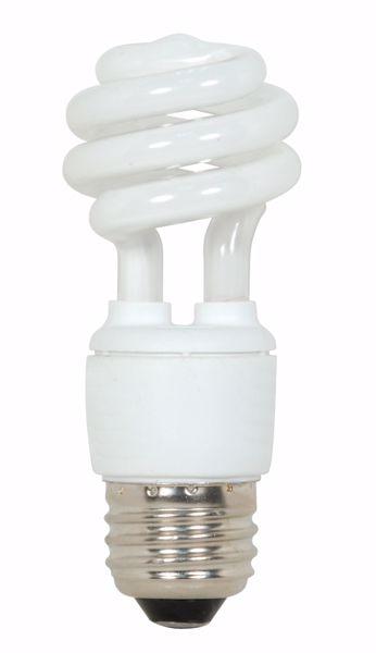 Picture of SATCO S7212 9T2/E26/4100K/120V  Compact Fluorescent Light Bulb