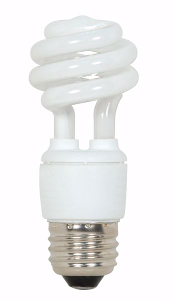 Picture of SATCO S7213 9T2/E26/5000K/120V  Compact Fluorescent Light Bulb