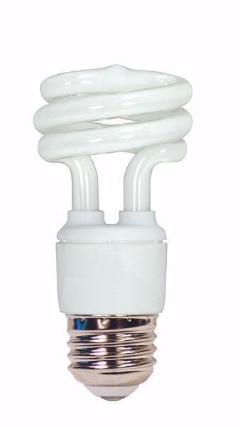 Picture of SATCO S7215 11T2/E26/4100K/120V  Compact Fluorescent Light Bulb