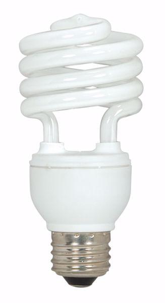 Picture of SATCO S7226 18T2/E26/5000K/120V  Compact Fluorescent Light Bulb