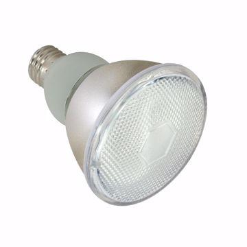 Picture of SATCO S7237 15PAR30/E26/4100K/120V/TF/1PK Compact Fluorescent Light Bulb