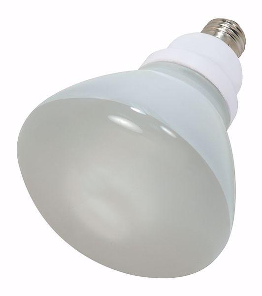 Picture of SATCO S7243 23R40/E26/5000K/120V  Compact Fluorescent Light Bulb