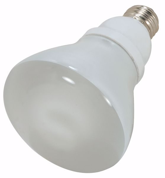 Picture of SATCO S7248 15R30/E26/4100K/120V  Compact Fluorescent Light Bulb