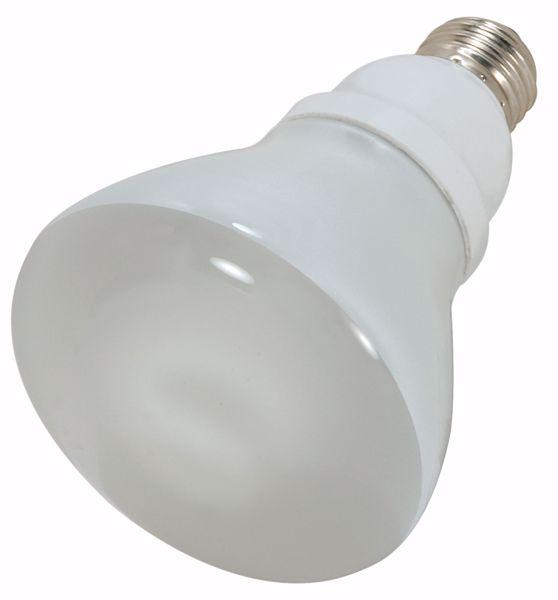Picture of SATCO S7249 15R30/E26/5000K/120V  Compact Fluorescent Light Bulb