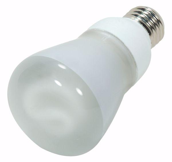 Picture of SATCO S7255 11R20/E26/4100K/120V  Compact Fluorescent Light Bulb