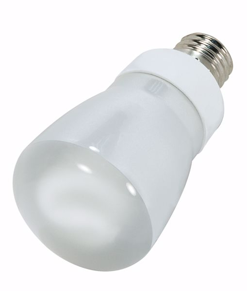 Picture of SATCO S7258 5R20/E26/4100K/120V  Compact Fluorescent Light Bulb