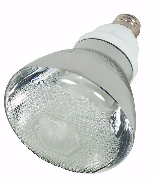 Picture of SATCO S7276 23BR38/E26/5000K/120V  Compact Fluorescent Light Bulb