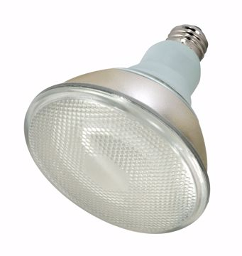 Picture of SATCO S7279 23PAR38/E26/2700K/120V/2PK Compact Fluorescent Light Bulb