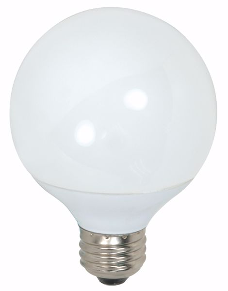 Picture of SATCO S7303 9G25/E26/5000K/120V/1PK Compact Fluorescent Light Bulb
