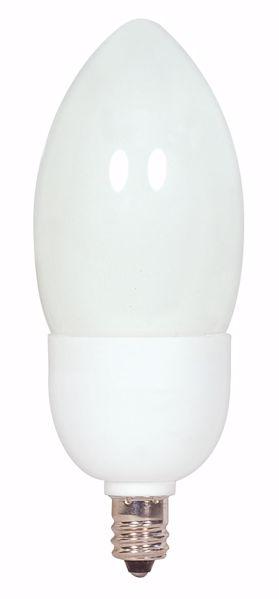 Picture of SATCO S7313 5CTCFL/E12/5000K/120V  Compact Fluorescent Light Bulb