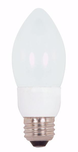 Picture of SATCO S7315 5ETCFL/E26/4100K/120V/1PK Compact Fluorescent Light Bulb
