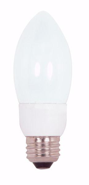 Picture of SATCO S7322 7ETCFL/E26/4100K/120V  Compact Fluorescent Light Bulb