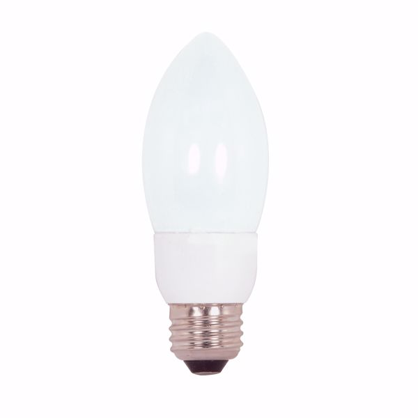 Picture of SATCO S7328 7ETCFL/E26/2700K/120V/1PK Compact Fluorescent Light Bulb