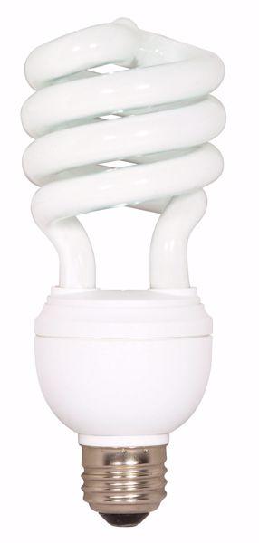 Picture of SATCO S7342 12/20/26T4/E26/4100K/120V/1PK Compact Fluorescent Light Bulb