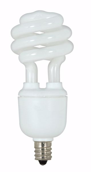 Picture of SATCO S7363 9T2/E12/5000K/120V  Compact Fluorescent Light Bulb