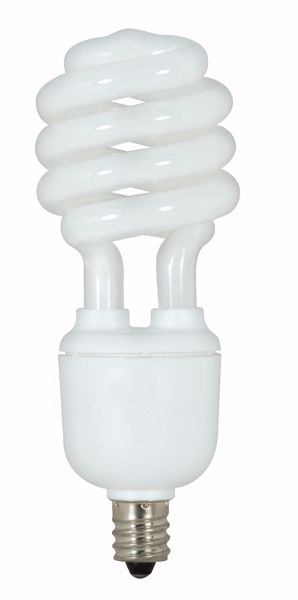 Picture of SATCO S7366 13T2/E12/5000K/120V/1PK Compact Fluorescent Light Bulb
