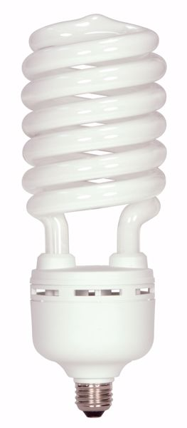 Picture of SATCO S7376 105T5/E26/4100K/120V/1PK Compact Fluorescent Light Bulb