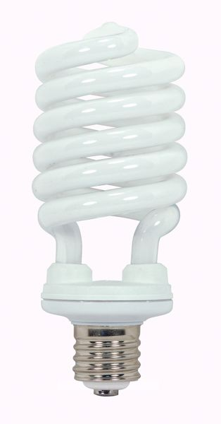 Picture of SATCO S7379 65T5/E39/6500K/120V  Compact Fluorescent Light Bulb