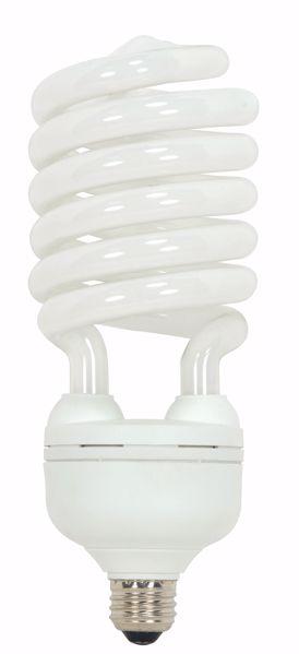 Picture of SATCO S7386 65T5/E26/5000K/120V  Compact Fluorescent Light Bulb