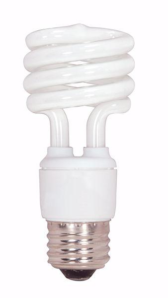 Picture of SATCO S7411 13T2/E27/2700K/230V  Compact Fluorescent Light Bulb