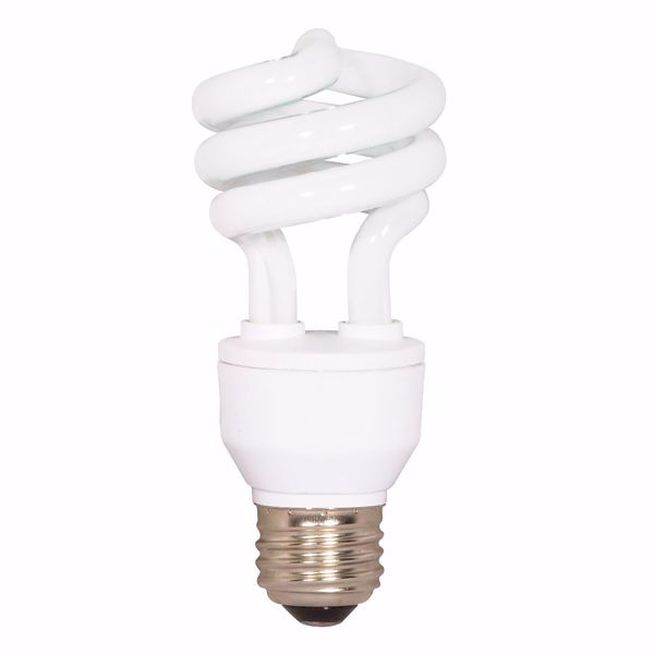 Picture of SATCO S7413 18T2/E27/2700K/230V/1PK Compact Fluorescent Light Bulb