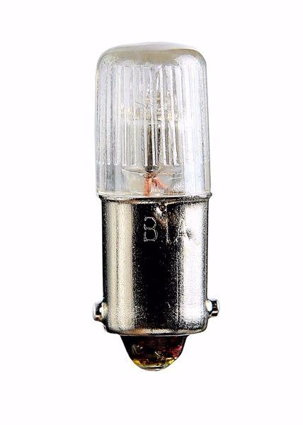 Picture of SATCO S7747 1822 36V 3.6W BA9S T3 1/4 C2F Incandescent Light Bulb