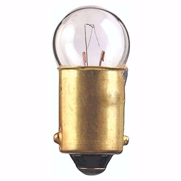 Picture of SATCO S7838 182 14.4V 2.59W BA9S G3.5 C2F Incandescent Light Bulb