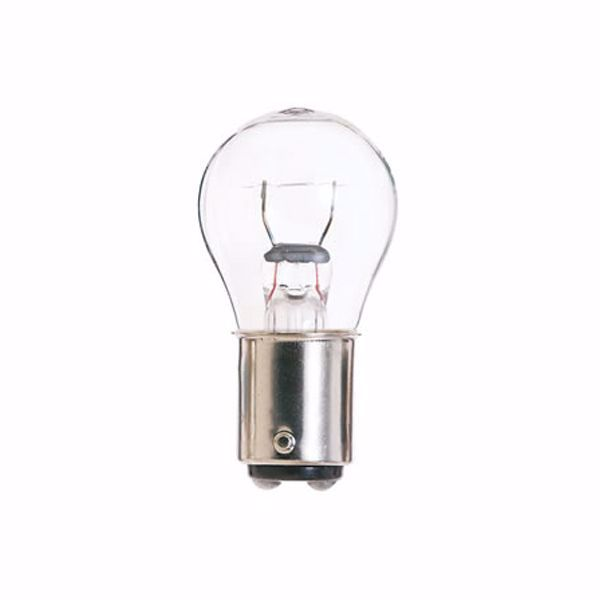 Picture of SATCO S7861 1076 12.8V 23W BA15D S8 C6 Incandescent Light Bulb