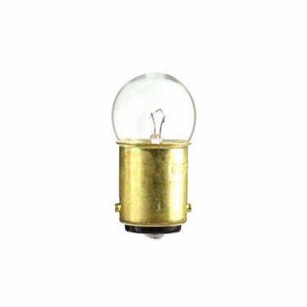 Picture of SATCO S7865 64 7V 4W BA15D G6 C2R Incandescent Light Bulb