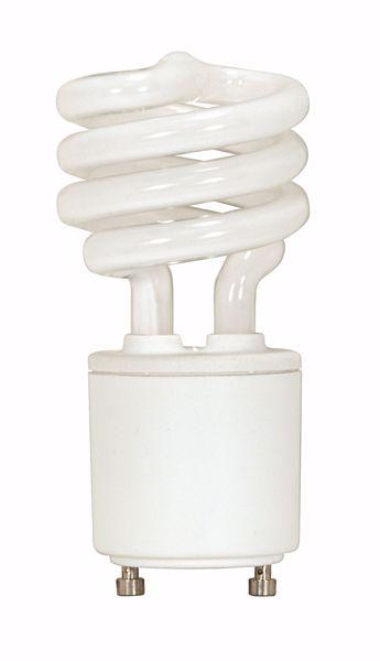 Picture of SATCO S8203 13T2/GU24/2700K/120V/1PK Compact Fluorescent Light Bulb
