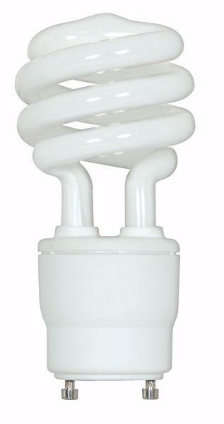 Picture of SATCO S8204 15T2/GU24/2700K/120V/1PK Compact Fluorescent Light Bulb