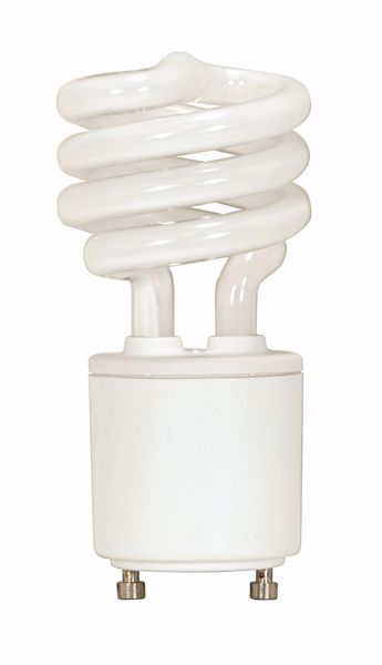 Picture of SATCO S8208 13T2/GU24/4100K/120V/1PK Compact Fluorescent Light Bulb